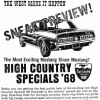 1968 High Country Special Flyer from Continental Divide Raceway, the night before the HCS went on sale to the public.